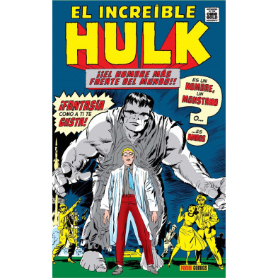 Cómic - El Increible Hulk 01: Hombre o monstruo