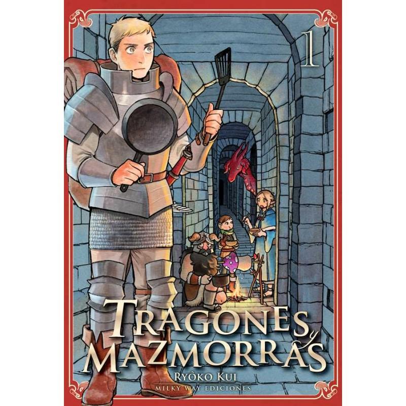 Comic Tragones y Mazmorras