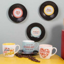 Set de taza y plato - My Friends 2