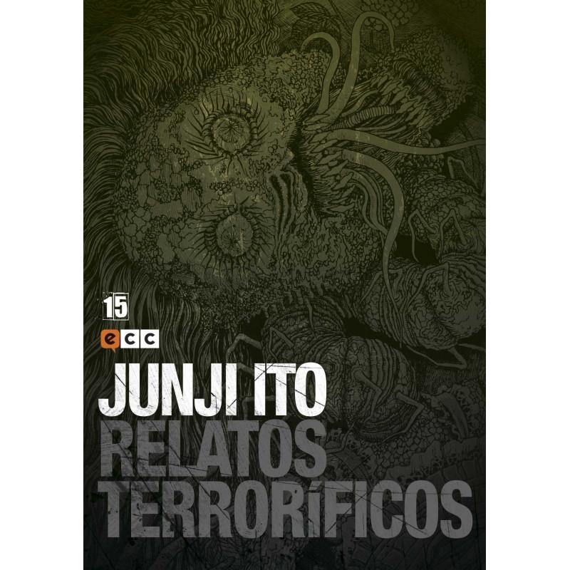 Cómic Relatos Terroríficos 15 Junji Ito